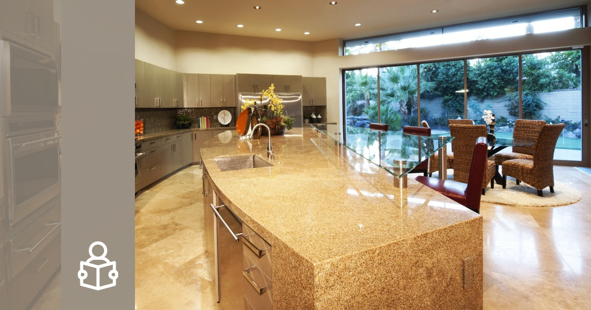 Cover Article: Monolith The kitchen Island